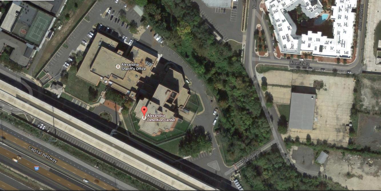 Alexandria City Jail (Google Maps Image)