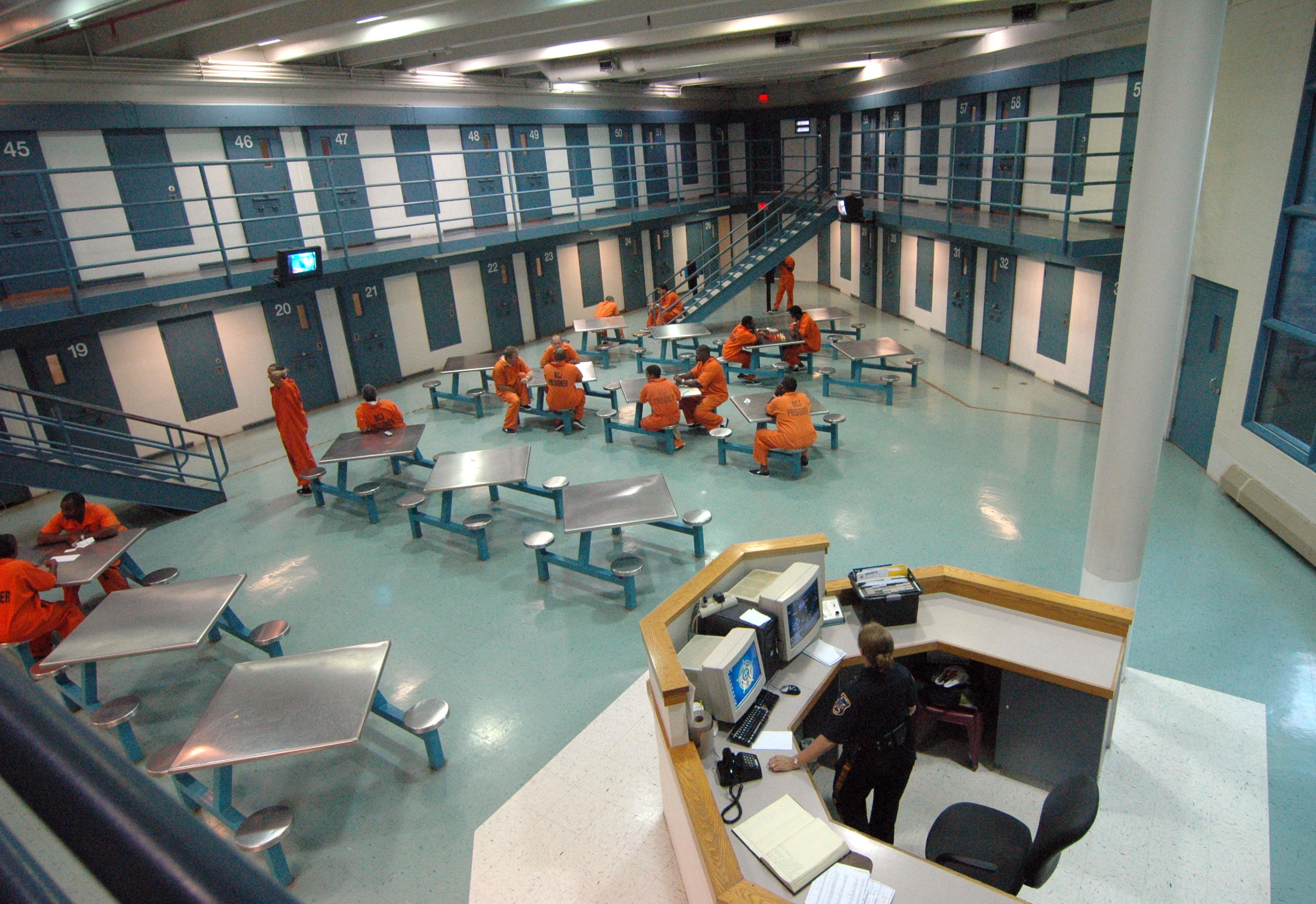 Bergen County Jail (United States of America) - Inside