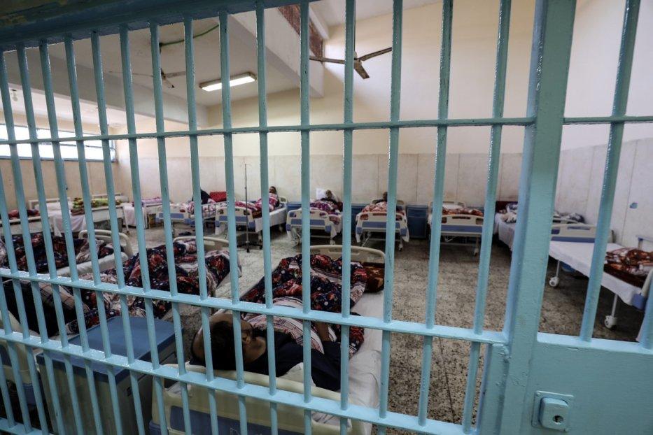 Qanater Prison (Source: Eritrea Hub: https://eritreahub.org/two-eritreans-refugees-on-hunger-strike-in-egyptian-prison/al-qanater-prison)