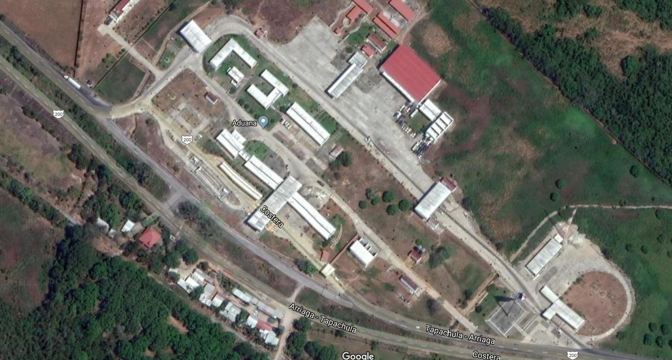 CAITF Huixtla - Vista aérea