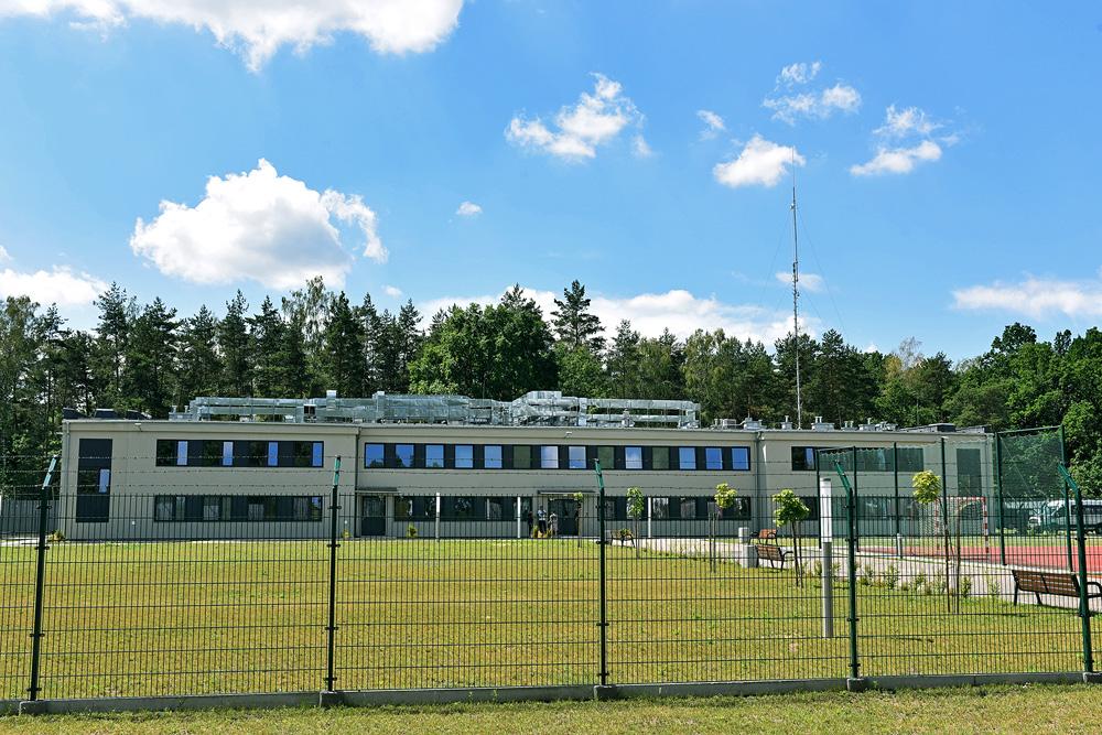 Lesznowola centre (Border Guard, Placówka Straży Granicznej w Lesznowoli, http://www.nadwislanski.strazgraniczna.pl/wis/placowki/psg-w-lesznowoli/11475,Placowka-Strazy-Granicznej-w-Lesznowoli.html)