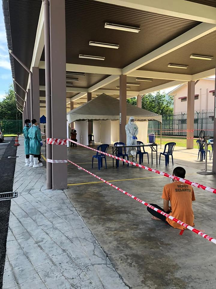 Malaysia immigration detainee Depot Imigresen Belantik 1 June 2020