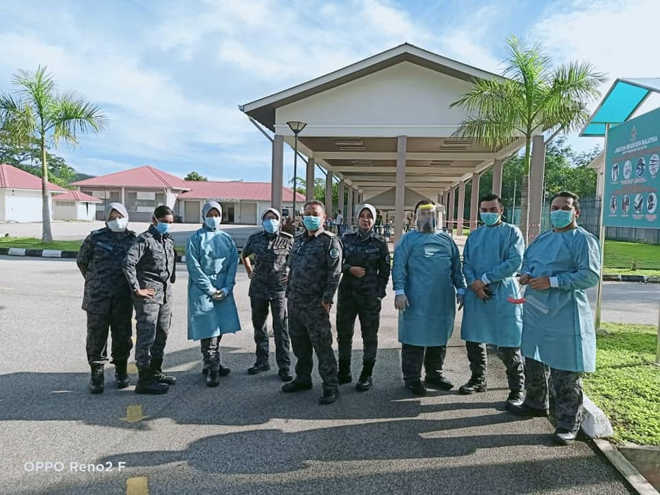 Malaysia immigraton detention  Depot Imigresen Belantik staff June 1 2020