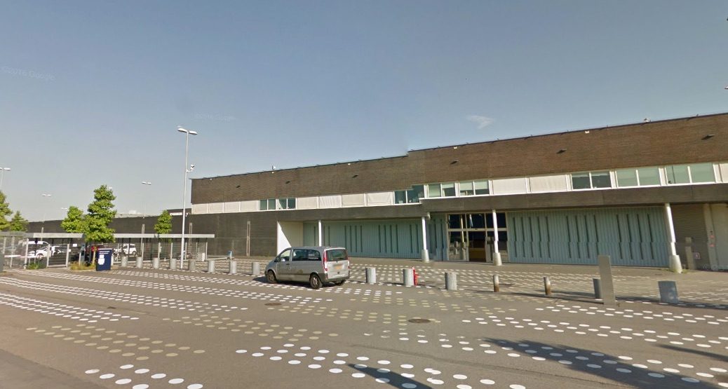 Google maps, Detentiecentrum Rotterdam