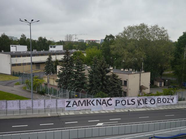 Warsaw airport transit zone (No Borders, https://migracja.noblogs.org/obozy-strzezone-detention-camps/okecie/)