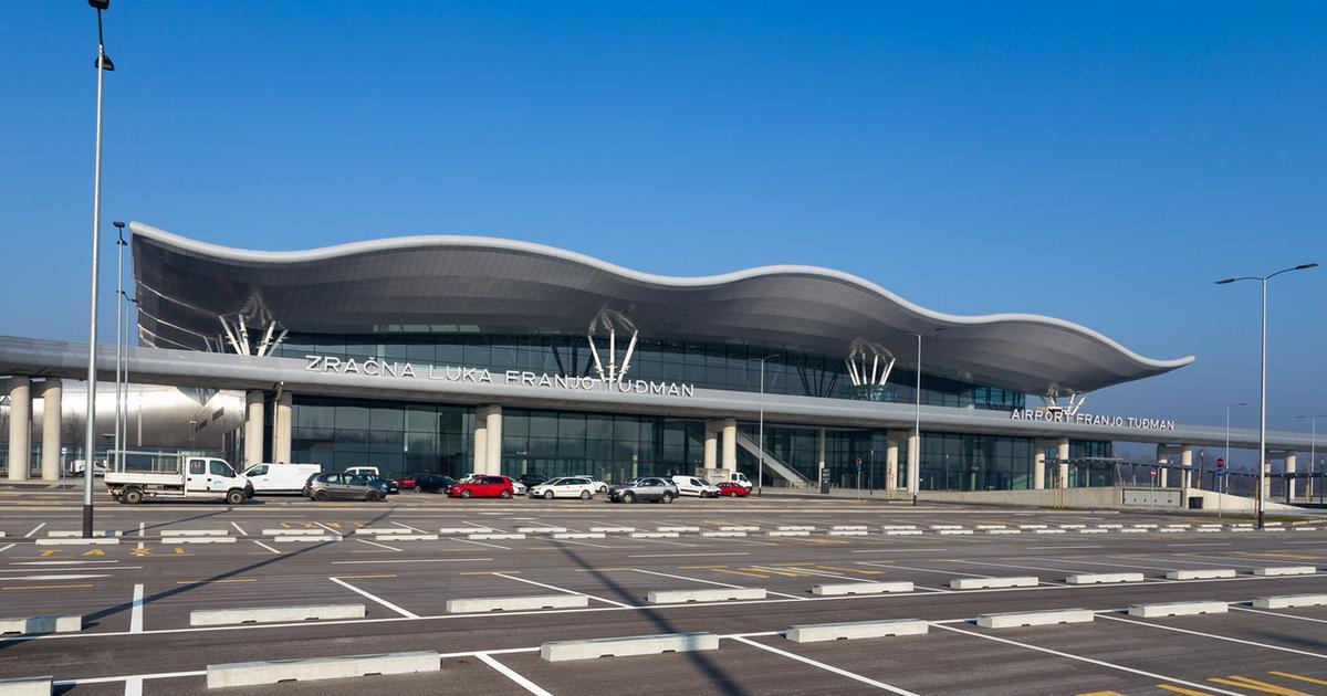 Zagreb International Airport MZLZ (Source: Photo by Josip Škof/MZLZ, in Vecernji.hr,
