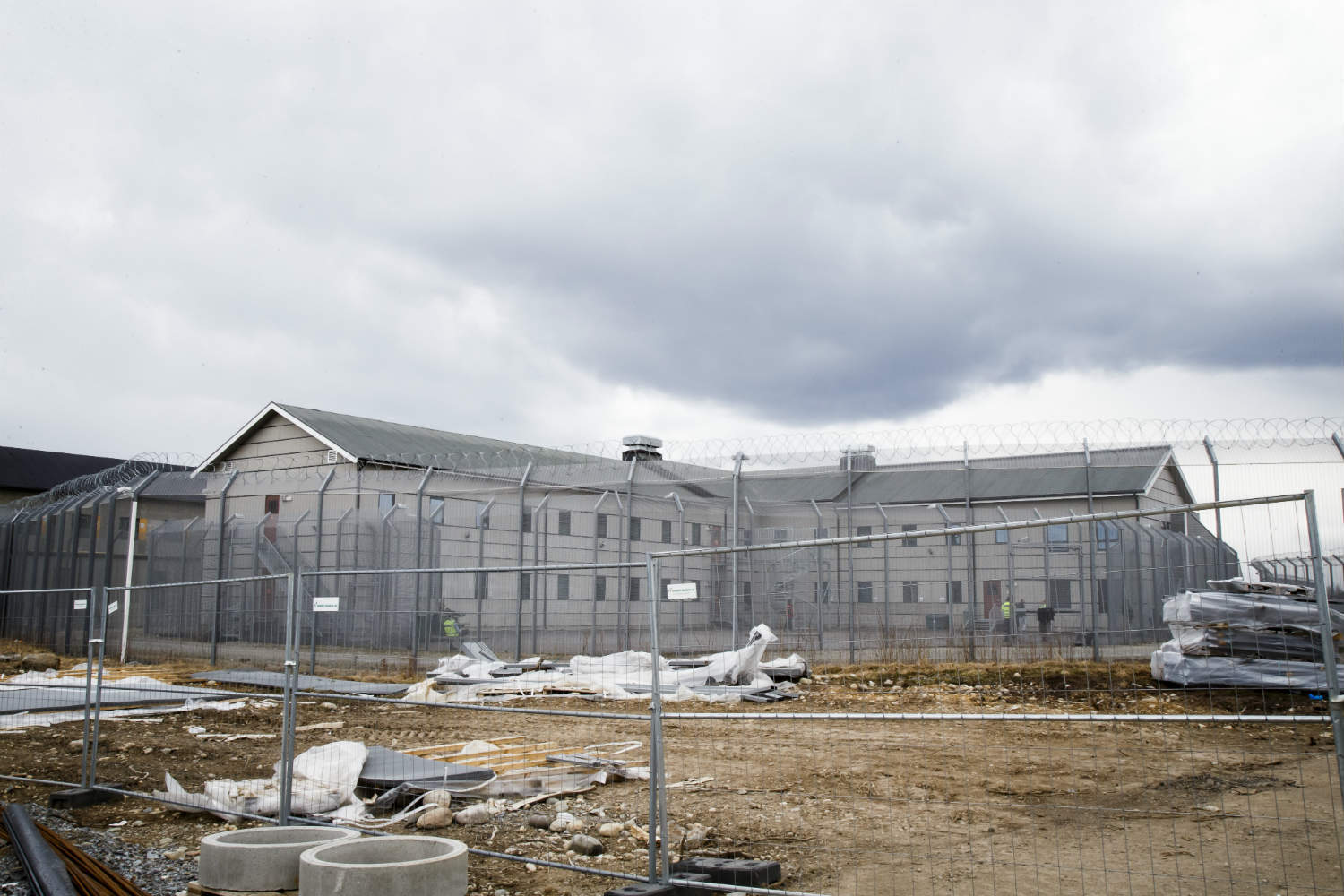 Trandum Detention Centre in 2016, (NTB Scanpix,