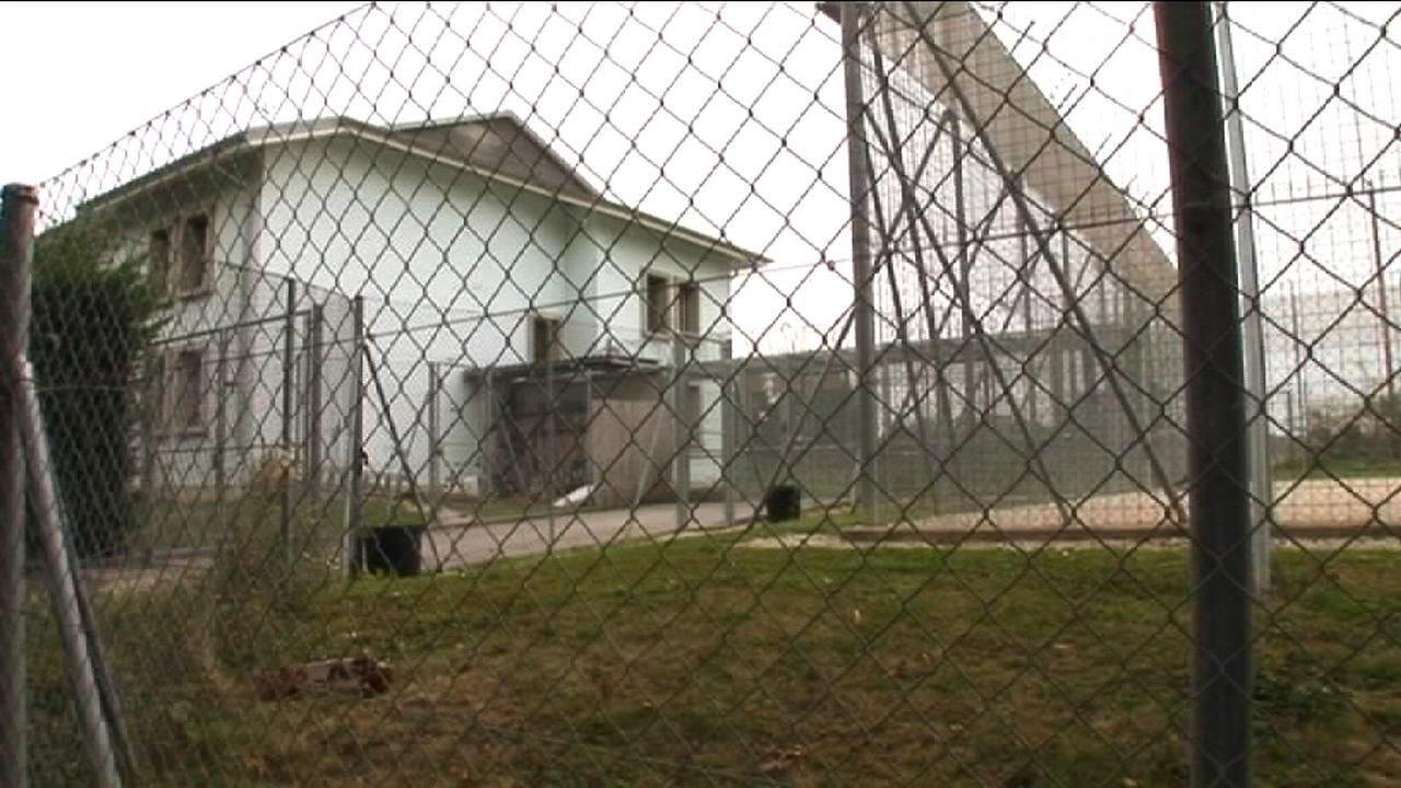 Frambois Detention Centre Seen From Outside in 2011, (Fernand Melgar,