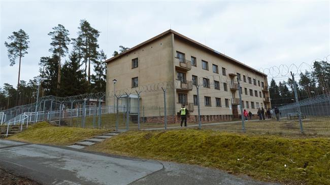 Outside View of a Part of the Bela-Jezova Detention Centre for Refugees, (Press TV,