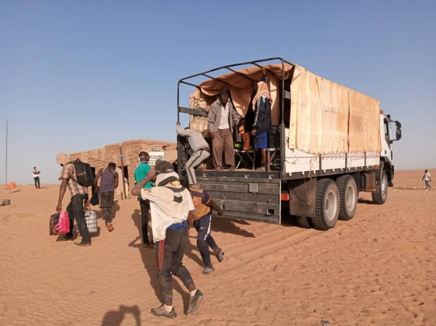 "Human Rights Watch, ""Algeria: Migrants, Asylum Seekers Forced Out,"" 9 October 2020, https://www.hrw.org/news/2020/10/09/algeria-migrants-asylum-seekers-forced-out"