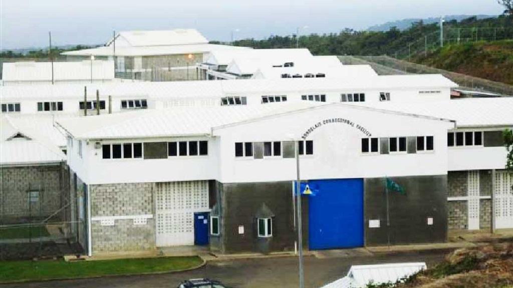 Bordelais Correctional Facility in Saint Lucia, (S. Gaillard,