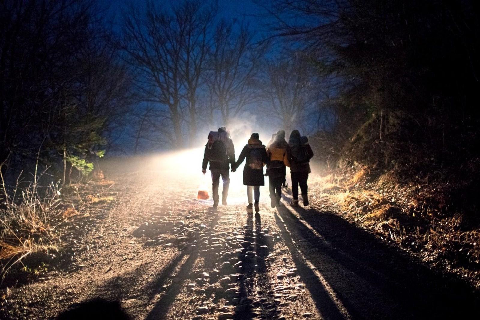 Migrants at the Bosnian-Croatian Border in December 2019, (Manu Brabo, AP,