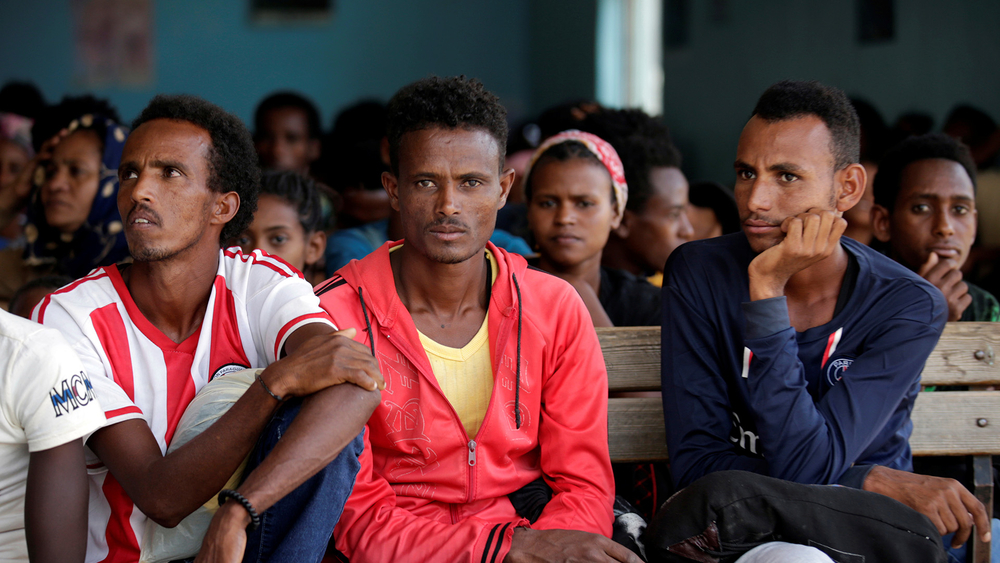"J. Ashly, ""Eritrean Refugees in Ethiopia Resist Camp Closure amid COVID-19 Fears,"" The New Humanitarian, 17 August 2020, https://www.thenewhumanitarian.org/news-feature/2020/08/17/Ethiopia-Eritrea-refugee-camps-coronavirus"