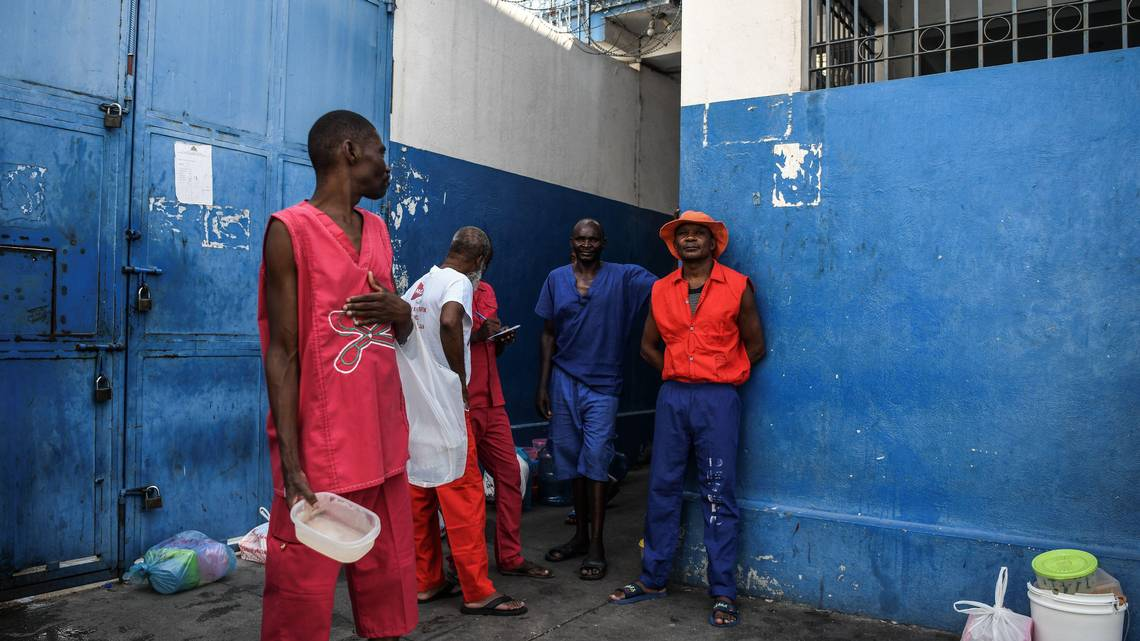 "J. Charles, ""COVID-19 has reached Haiti's overcrowded prisons. Some fear a human rights disaster,"" Miami Herald, 27 May 2020, https://www.miamiherald.com/news/nation-world/world/americas/haiti/article243018516.html"