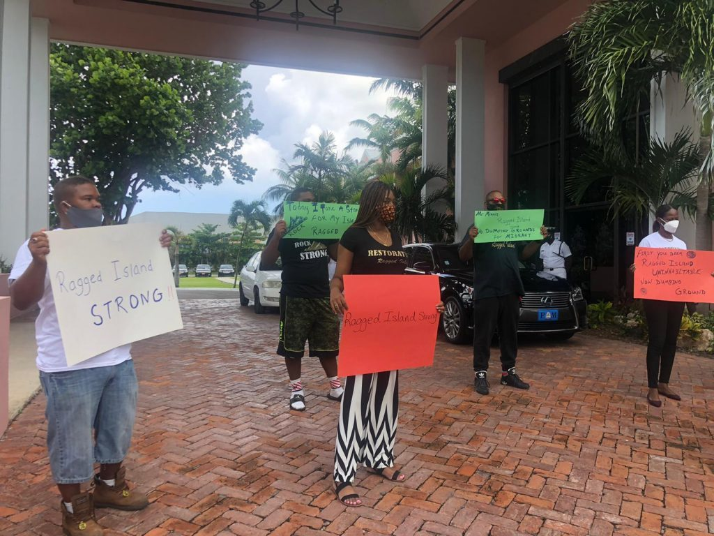 Islanders Staged a Protest at the Office of the Prime Minister in Nassau, Confirming their Outrage with the Decision to Detain Intercepted Haitian Migrants at the Royal Bahamas Defence Force Base on the Island, (D. S. Hamilton,
