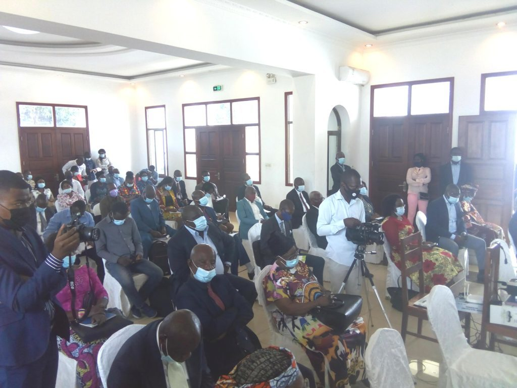 NHRC and UNDP Training Seminar in Brazzaville on 28 January 2021, (T. Bosley,