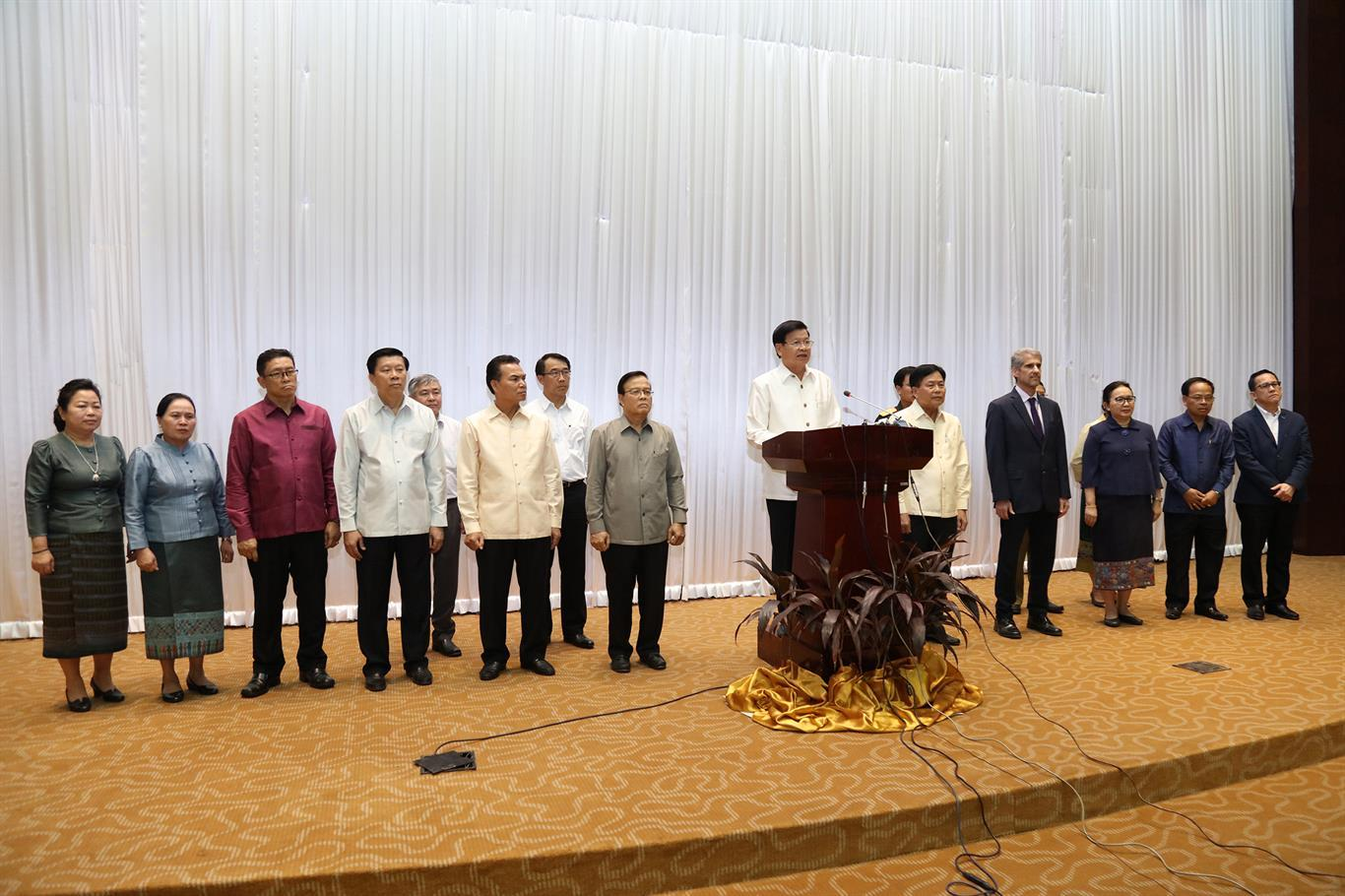 "WHO, ""Prime Minister Thanks Partners for Support During First Phase of Lao PDR's Battle with COVID-19,"" 10 June 2020, https://www.who.int/laos/news/detail/10-06-2020-prime-minister-thanks-partners-for-support-during-first-phase-of-lao-pdr-s-battle-with-covid-19"