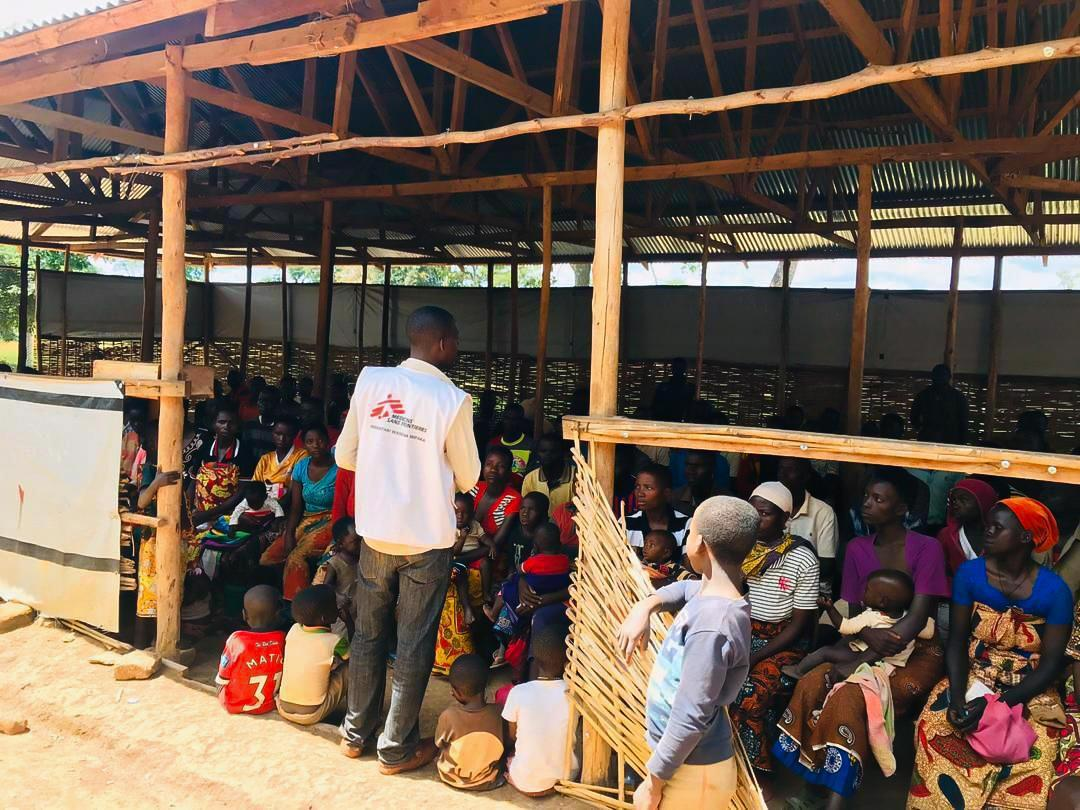 An MSF Health Official Reaches Out to Communities in Nduta Refugee Camp in Tanzania to Help Prevent the Spread of COVID-19, (MSF,