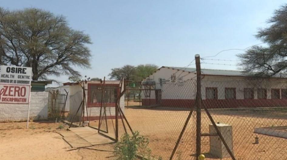 Osire Refugee Camp Entrance (Namibian Broadcasting Corporation,