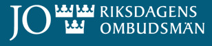 Swedish Parliamentary Ombudsman Office logo, (Ombudsman website, https://www.jo.se/en/)