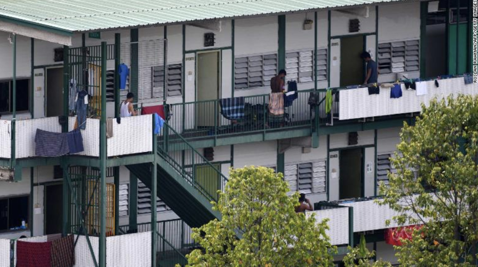 A Dormitory for Migrant Workers in Singapore in 2015, (Kirsten Han, The Interpreter,