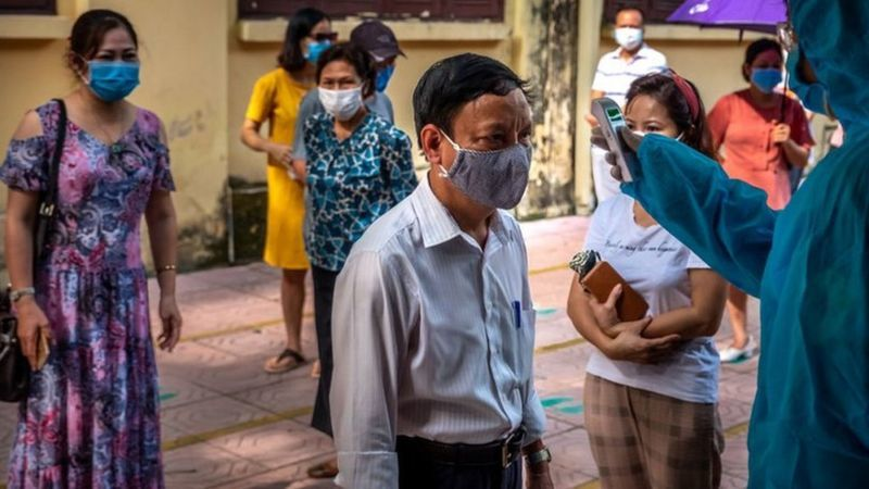 "P. Jha, ""Coronavirus Vietnam: The Mysterious Resurgence of Covid-19,"" BBC News, 8 August 2020, https://www.bbc.co.uk/news/world-asia-53690711"