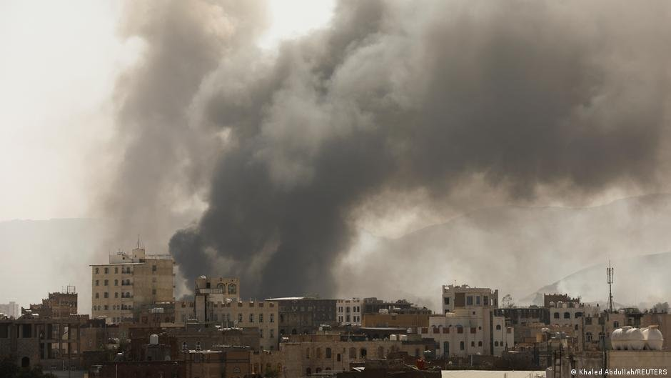 "M. MacGregor, ""Yemen Detention Center Fire Highlights Dangers for Migrants,"" InfoMigrants, 8 March 2021, https://www.infomigrants.net/en/post/30723/yemen-detention-center-fire-highlights-dangers-for-migrants"