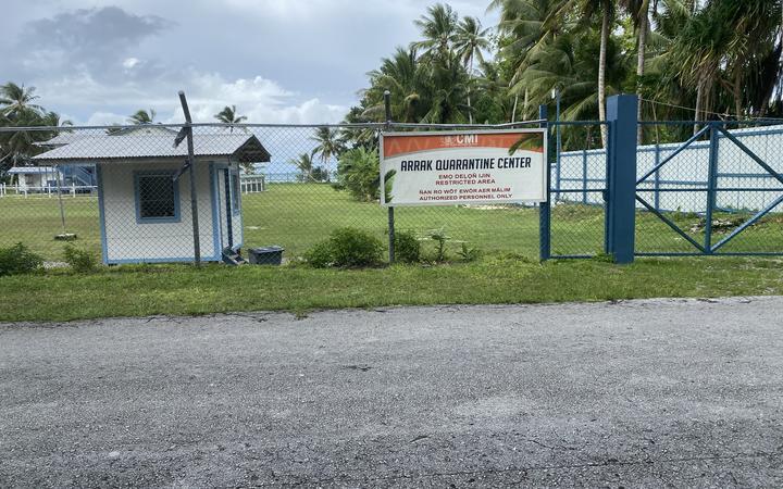A quarantine centre in Majuro. Photo: Giff Johnson (RNZ,