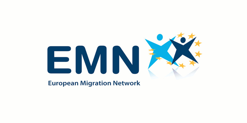 European Migration Network Logo, (EMN,