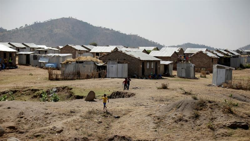 Eritrean Refugee Camp in the Tigray Region near the Eritrean Border, (Tiksa Negeri, Reuters,