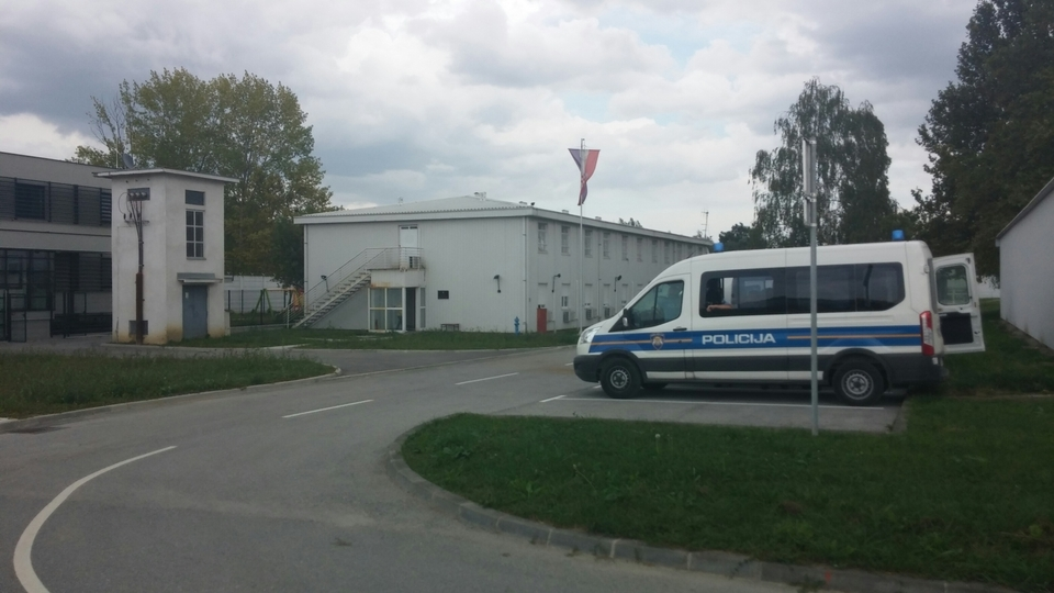Ježevo Immigration Detention Centre centar za strance (RTL,