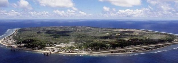 Aerial View of Nauru, (Getty Images,