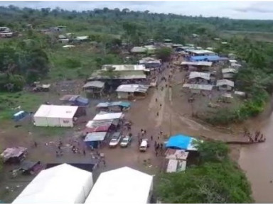 Image of Humanitarian Temporary Station for Migrants in Panama in 2019, (IOM,