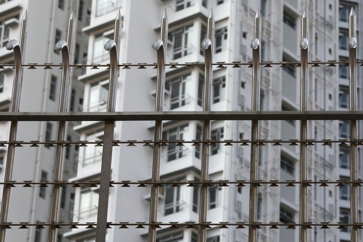 Government Quarantine Camp at the Chun Yeung Estate, (K.Y. Cheng, South China Morning Post,