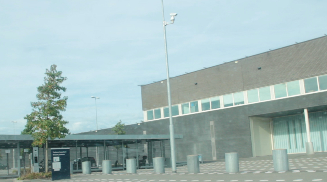 Rotterdam Detention Centre Seen From Outside, (Ziarah Utara,