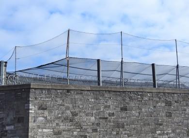Derick Hudson, Mountjoy Prison Fence and Wall in Dublin, Shutterstock, (https://www.thejournal.ie/prisons-ireland-coronavirus-5046229-Mar2020/)