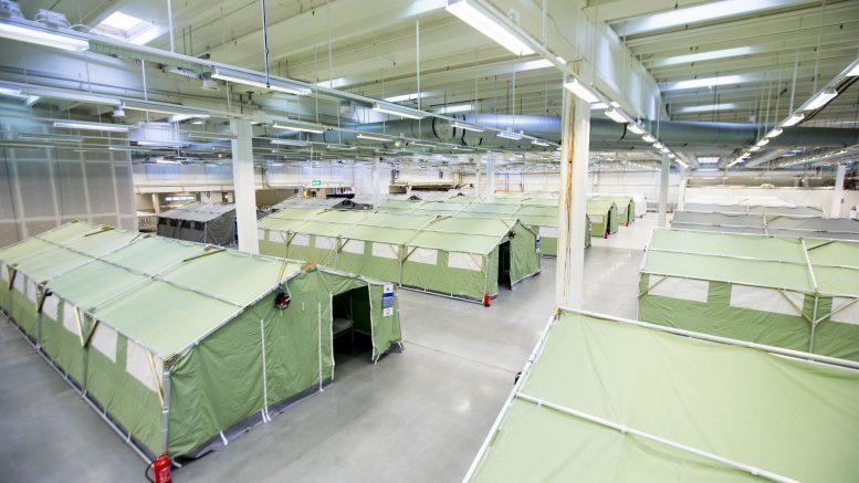 Arrival Centre in Råde in Norway, (https://www.moss-avis.no/ankomstsenter-%C3%B8stfold)