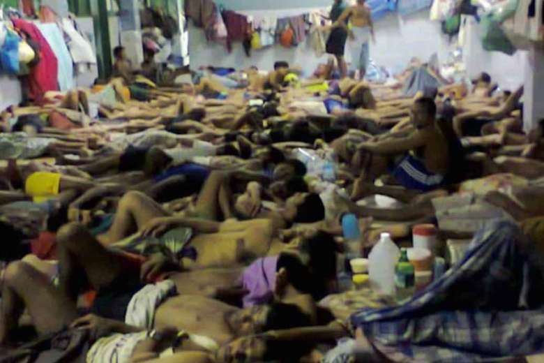 Overcrowded Cell in Bangkok Immigration Detention Centre in January 2020, (J. Lovelock,